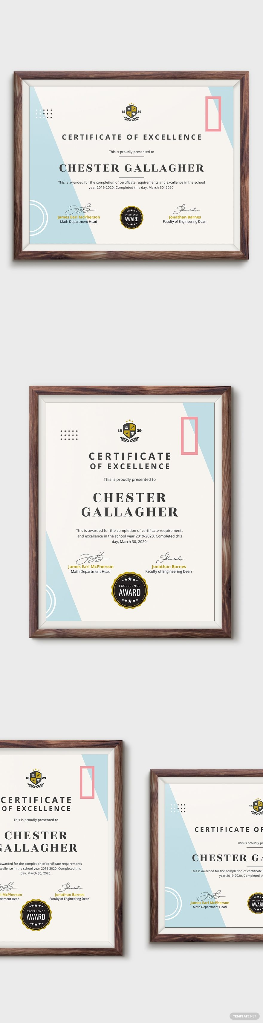 Academic Achievement Certificate Template Word Doc Psd Indesign Apple Mac Pages Publisher Illustrator Certificate Templates Academic Achievement Certificate Microsoft publisher award certificate templates