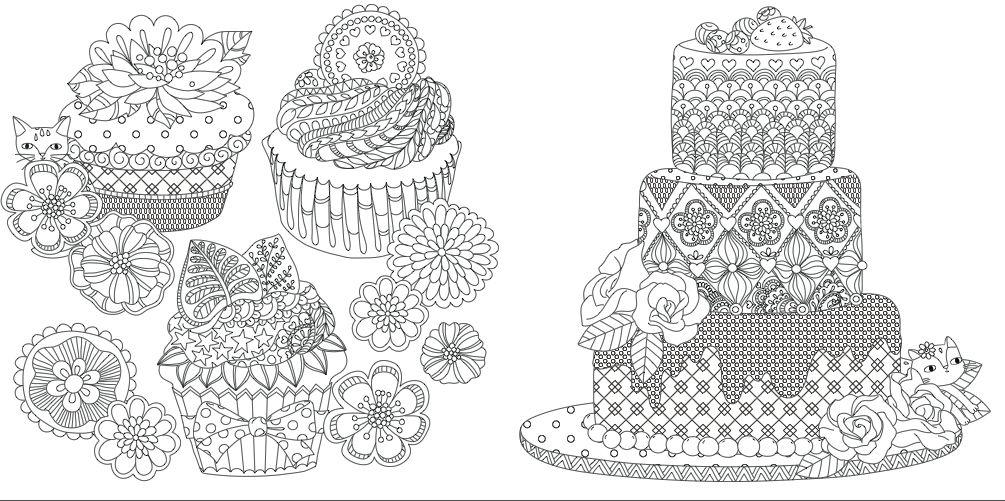 オトナのぬりえひみつの花園オフィシャルブログの画像 ぬりえ