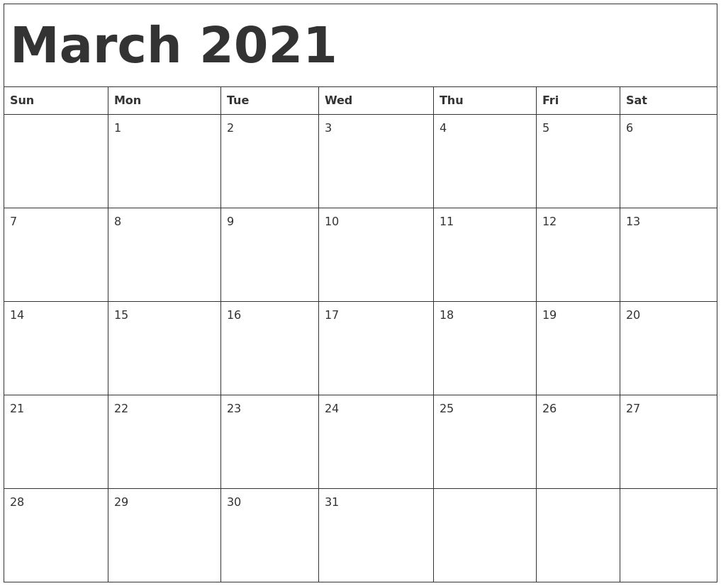 January February March 2021 Calendar In 2020 Calendar Template Printable Calendar Template Calendar Printables