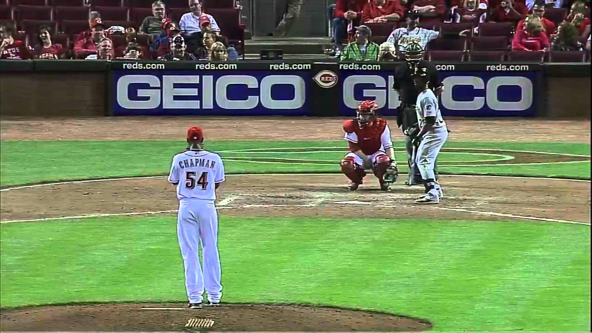 Mlb S Fastest Pitch Ever Recorded Baseball Baseball Records Baseball History