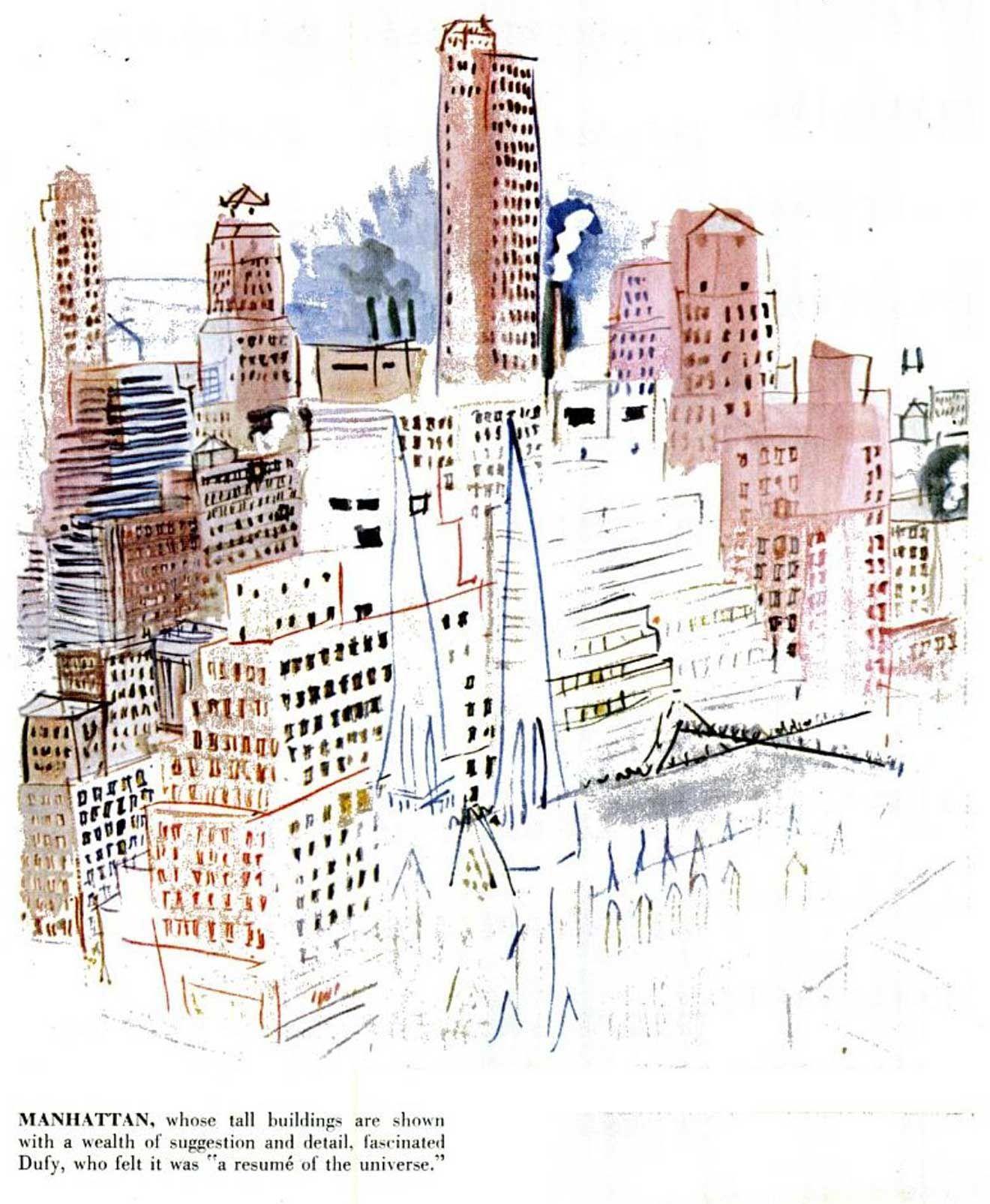 Raoul Dufy / NYC