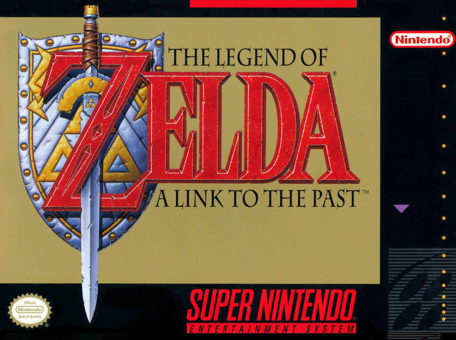 A4 Poster The Legend Of Zelda A Link To The Past Super Nintendo