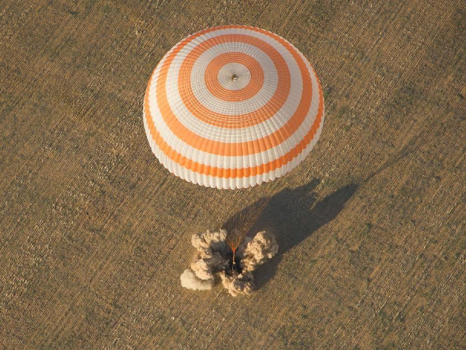 NASA - Expedition 32 Landing