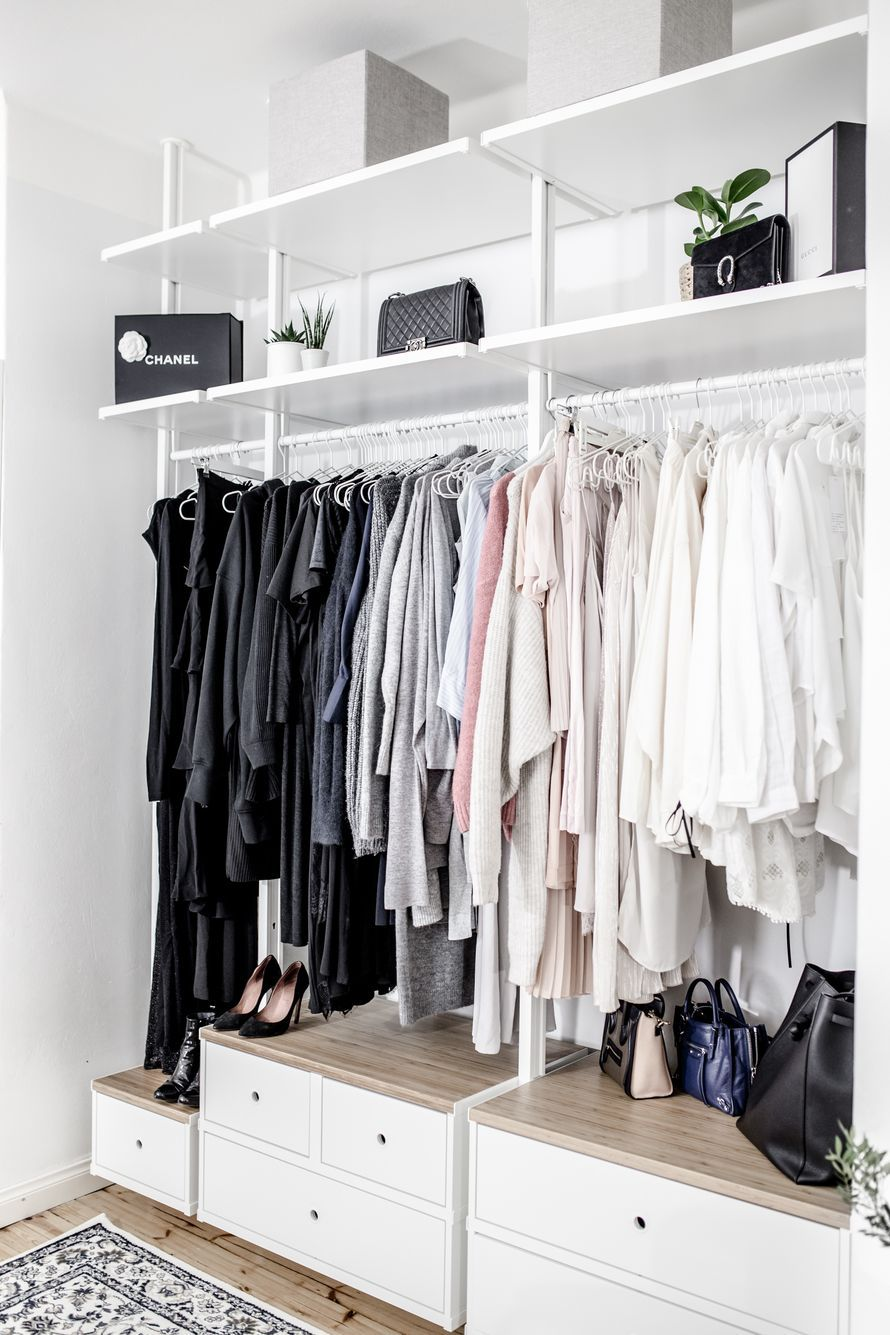 Image Result For Elvarli Closet Walk In Closet Ikea Ikea Closet