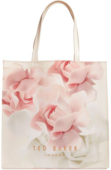 35ad230741017 TED BAKER Large Icon Porcelain Rose Tote.  tedbaker  bags  hand bags  pvc   tote