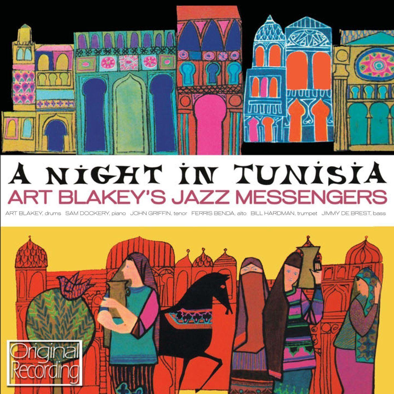 Resultado de imagen de Art Blakey & the Jazz Messengers - Lp: 'A Night in Tunisia'