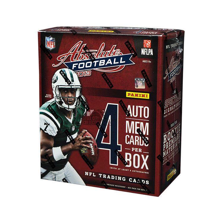 2013 panini absolute football hobby box footballcards