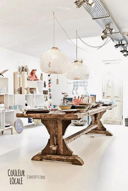 Couleur Locale Concept Store Belge Winkel Design
