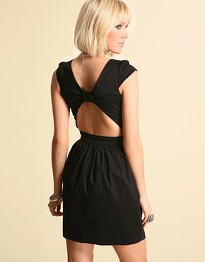 Cut Out Back Dresses