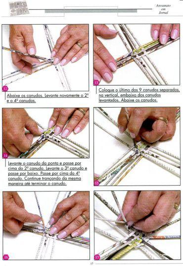 manualidades con papel de periódico « Variasmanualidades's Blog