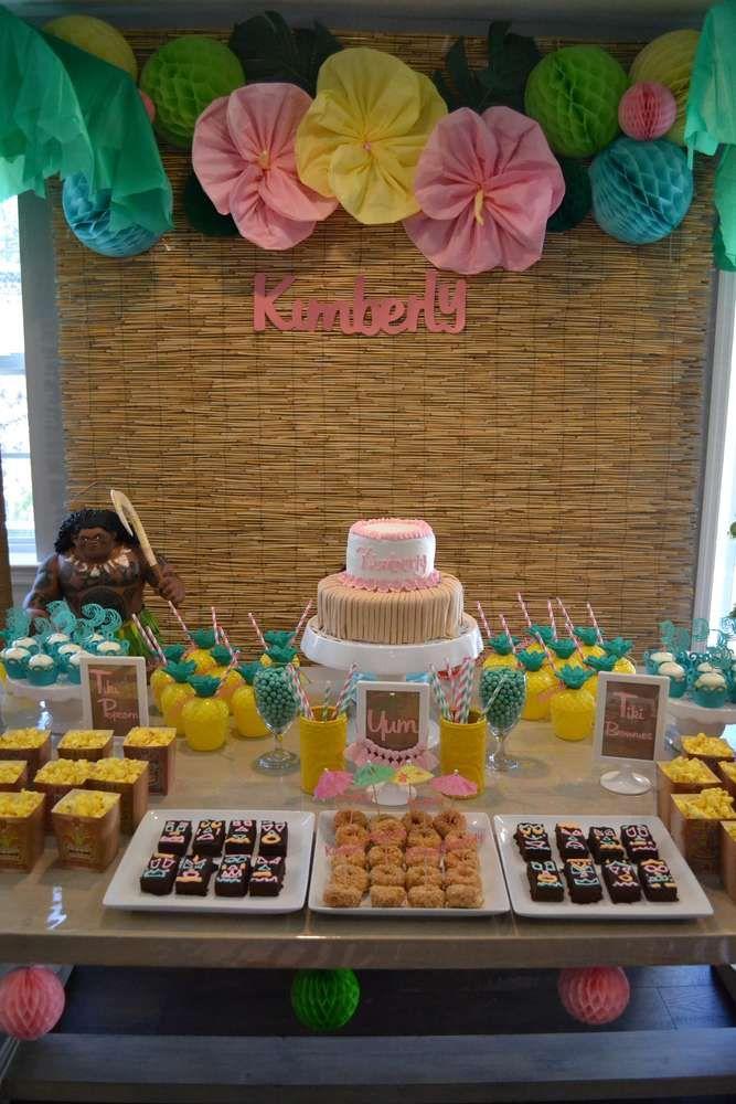 Moana Birthday Party Ideas | Photo 1 of 21