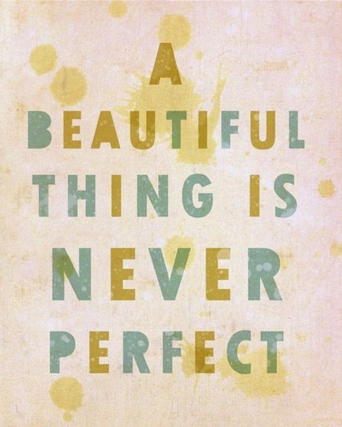 therefore we are all beautiful.