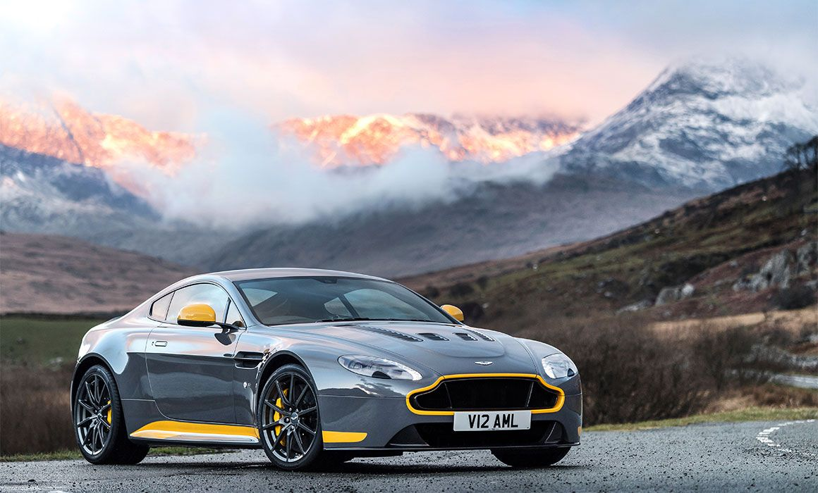 Aston Martin - Manual transmission for V8 Vantage S: the ... | aston martin vantage manual