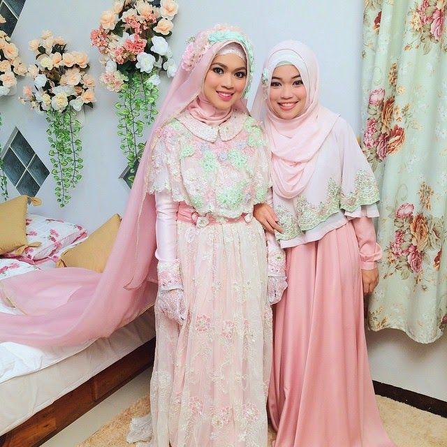 Tutorial Hijab Syar I Menutup Dada Google Search Gaun Pengantin Gaun Pengantin Muslim