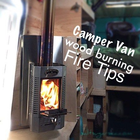 For Winter Camping We Looked A Heat Option That Did Not Require Electricity And Found The Dickinson Marine Wood Burner Our Camper Van Fireplace