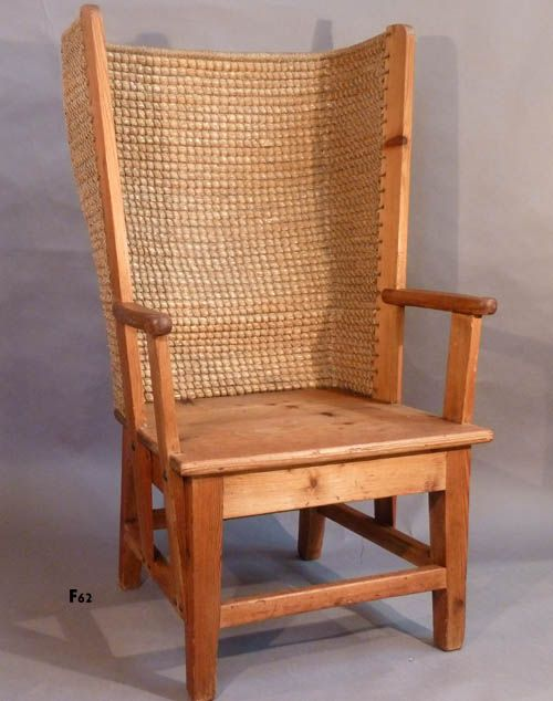 traditional Orkney chair - this is an antique but they are still being made  in the - Traditional Orkney Chair - This Is An Antique But They Are Still