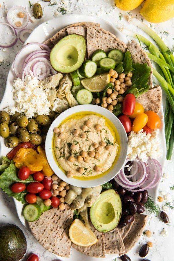 Cocktail Party Appetizer Ideas Part - 29: The Ultimate Hummus Plate. Easy Party AppetizersAppetizer IdeasCocktail ...