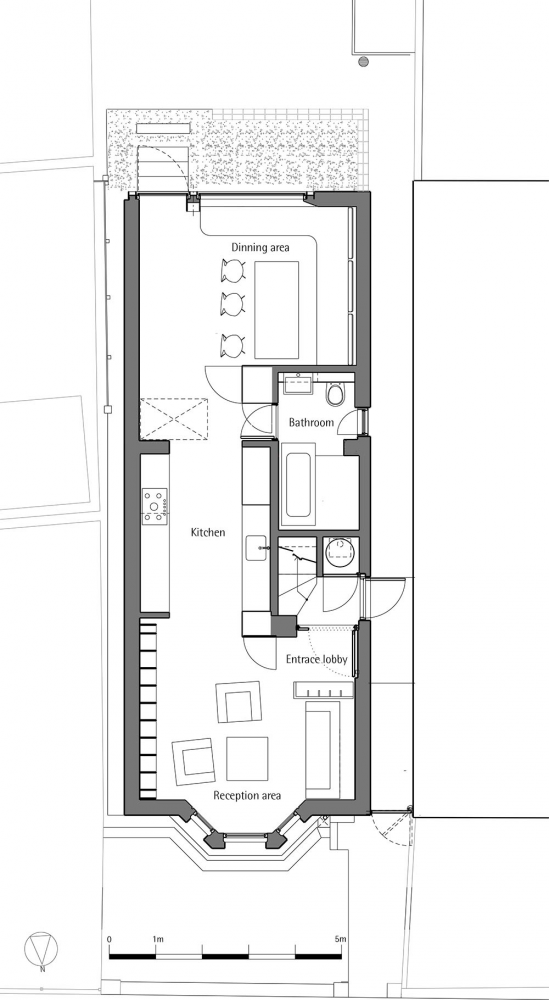Gallery Of House Of Trace Tsuruta Architects 30 Narrow House Plans Narrow House House