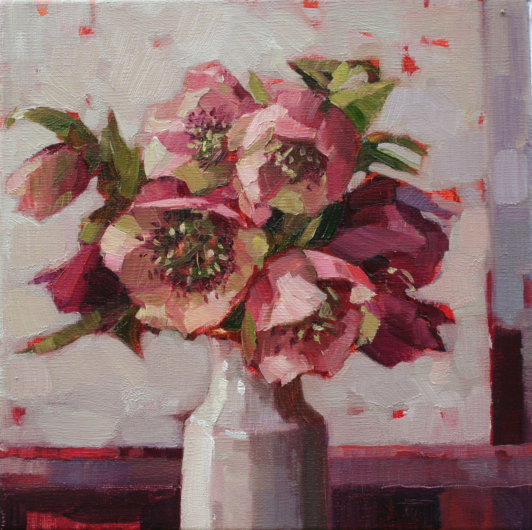 Annemarie butlin hellebores gallerytop contemporary