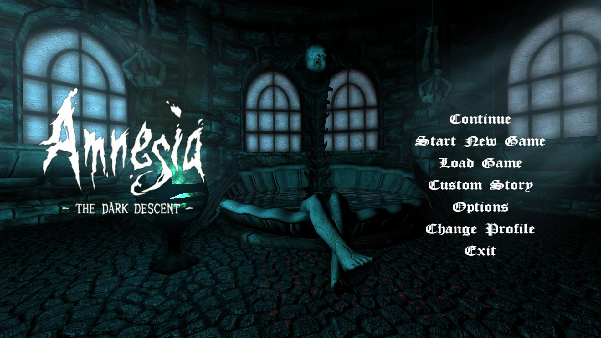 Amnesia Menu Game Interface Amnesia Neon Signs