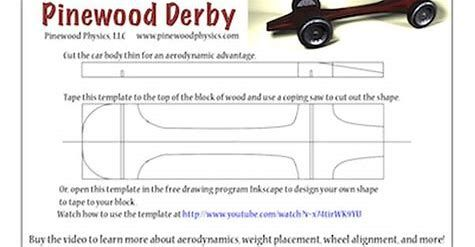 Image Result For Fastest Pinewood Derby Car Templates Free Pine