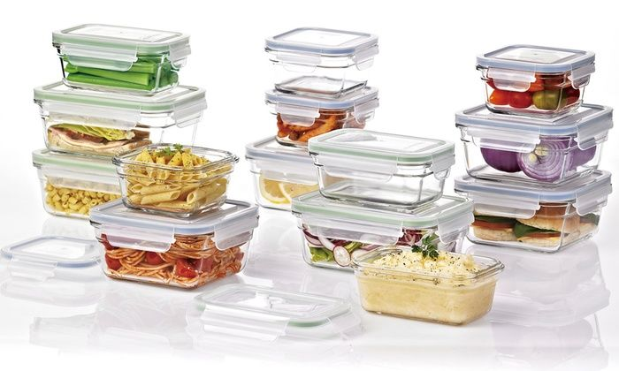Glasslock Food Storage Container Sets Glasslock Food Storage Container Sets Glasslock Food Storage