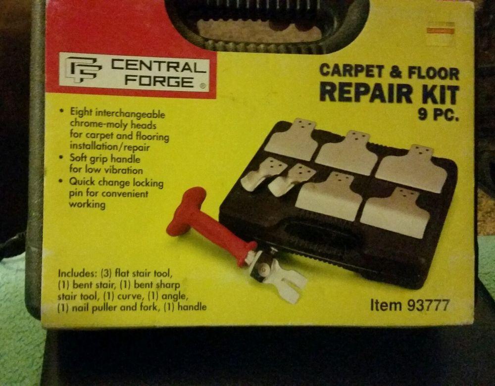 Central Forge Carpet And Repair Kit 9 Pieces Forging Repair Carpet