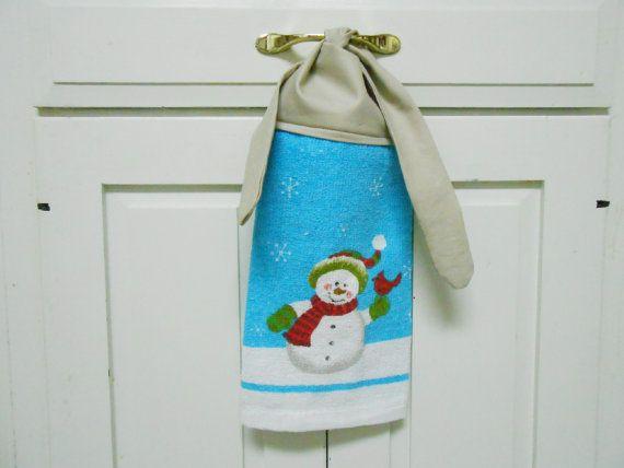 Kitchen Hand Towel Hanging Hand Towel Hanging Dish Towel Hanging Towel Tea  Towel Dish Towel Towel With Ties Tie On Towel