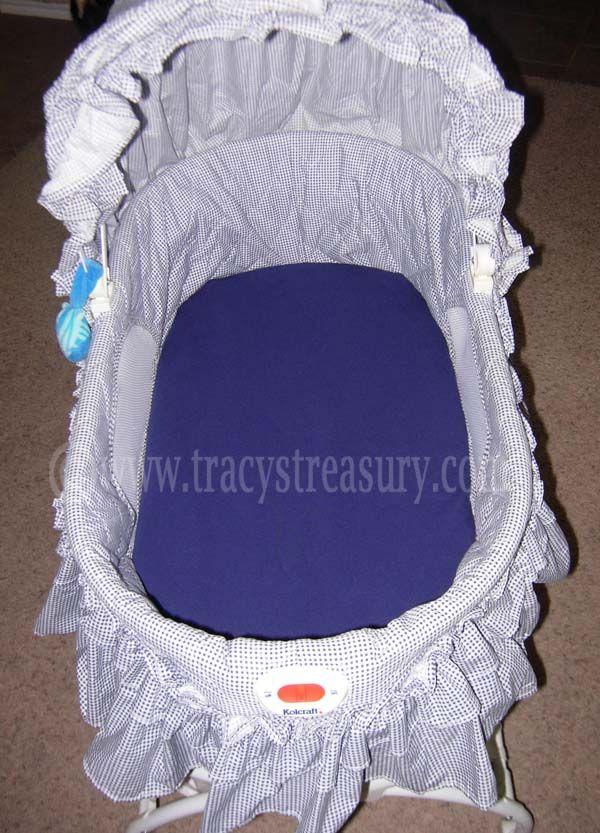 Tesoro de Tracy: sábanas para cuna empotrados para bebés y niños pequeños (de costura Tutorial)