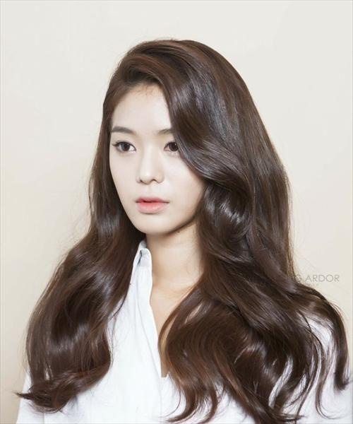 46+ Down perm asian hair ideas