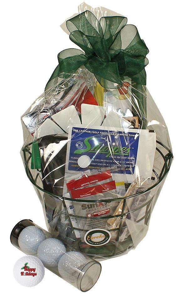 Happy Holidays Golf Gift Basket - GreatGolfMemories.com ...