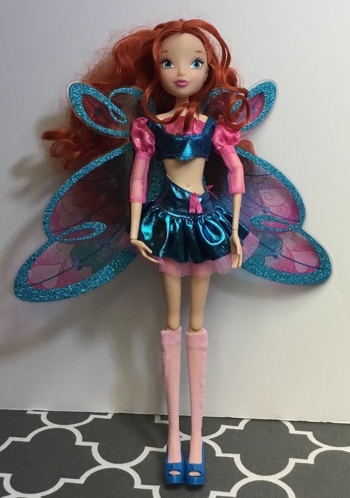 2012 Viacom and Rainbow Winx Fairy Bloom Doll Red Hair Original Clothing | eBay