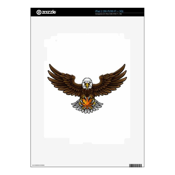 Eagle Basketball Sports Mascot Skin For The iPad 2 Custom Brandable ...