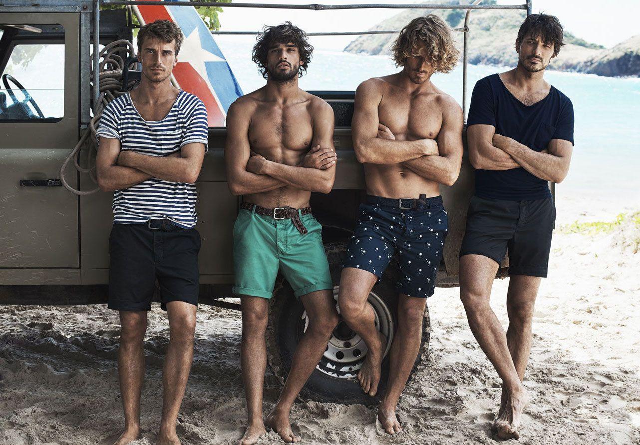 Men offer group beach — 11
