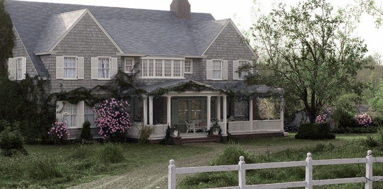 Grey Gardens In The Hamptons Today Grey Gardens House Shingle