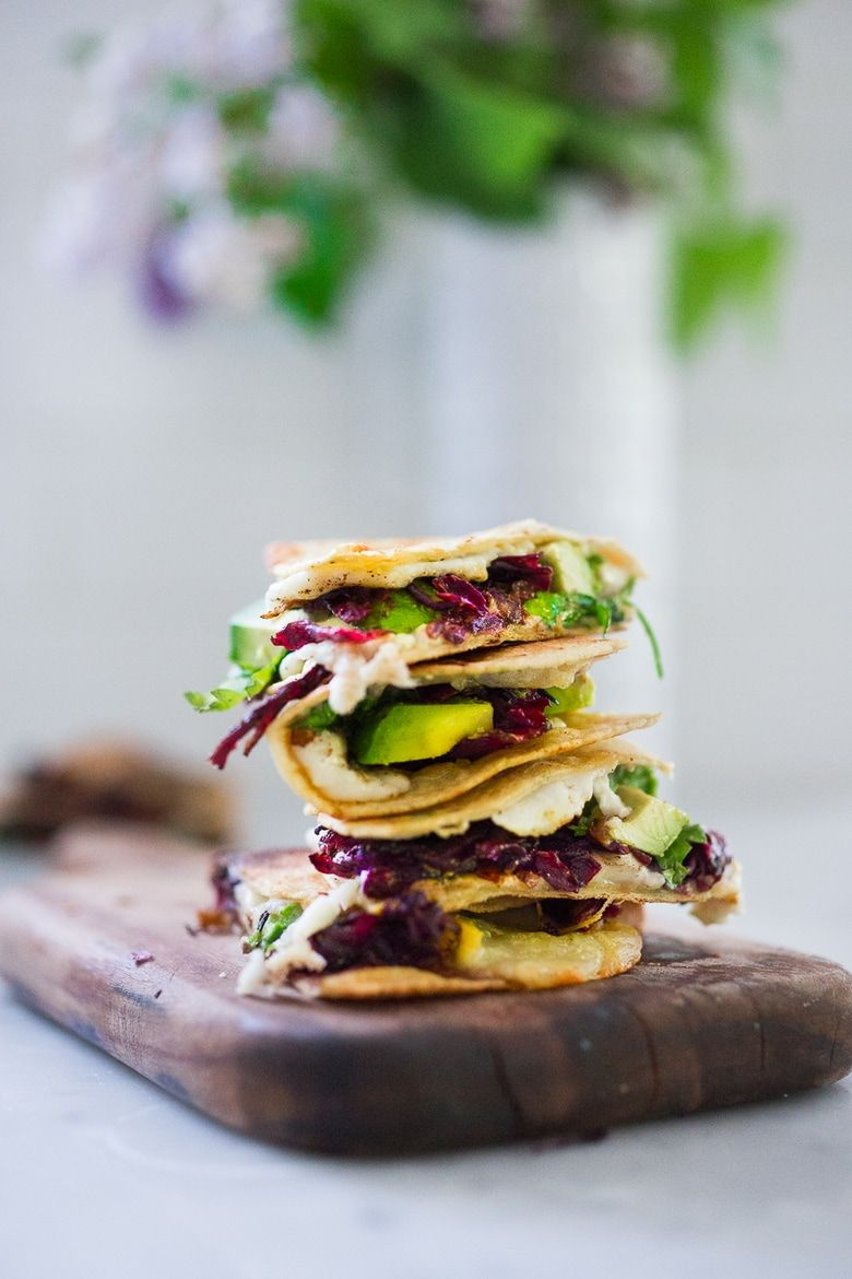 How To Create A Mexican Feast Recipes Quesadilla Hibiscus Recipe