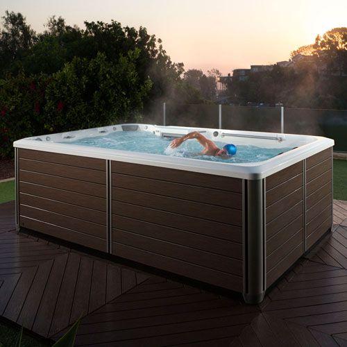 Endless Pools Swim Spa X200 12 In 2019 Small Backyard
