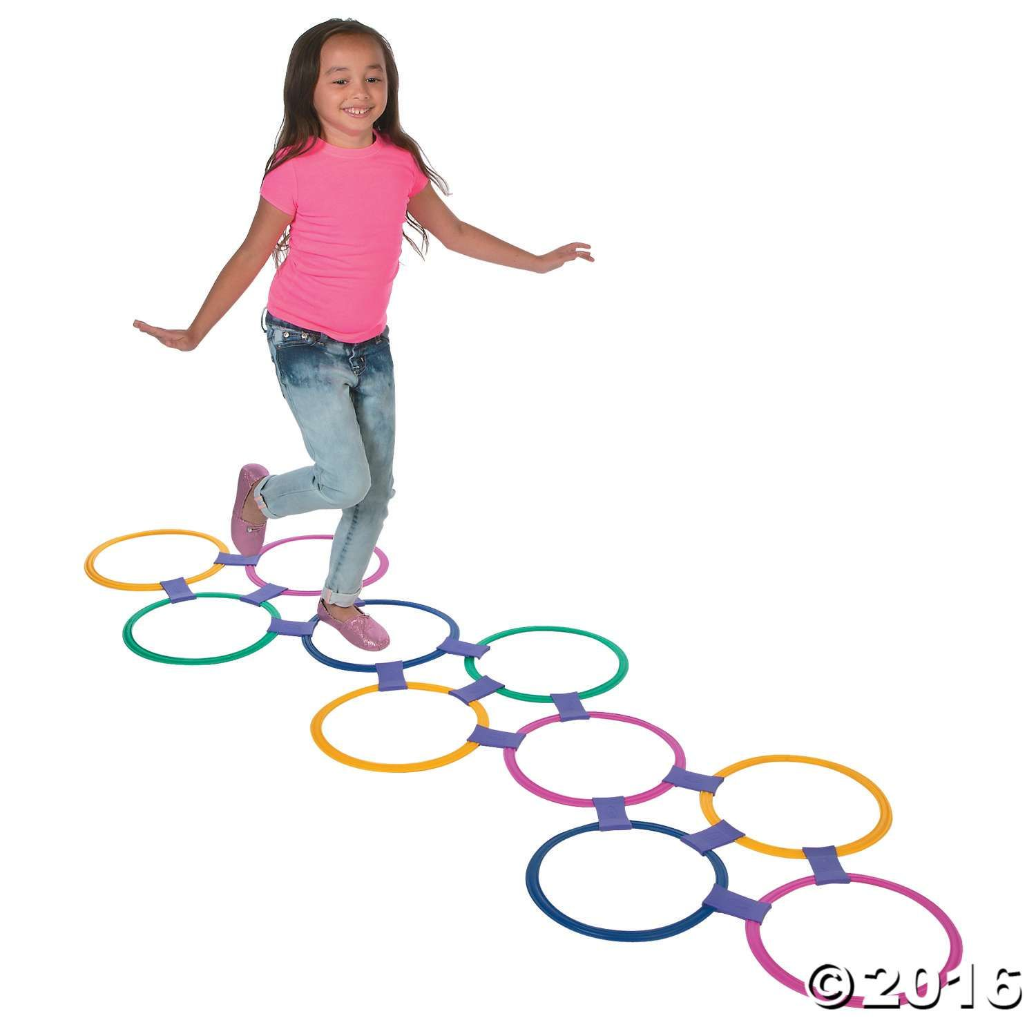Hopscotch Ring Set Oriental Trading Ring Game Hopscotch Playground Activities