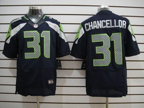 0925d4191 ... nfl cheap jerseys site httpwww 23.88 at Nike Elite Kam Chancellor Navy  Blue Mens Jersey - Seattle Seahawks 31 ...