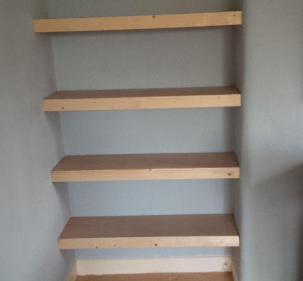 Diy Closet Shelves Small How To Build
