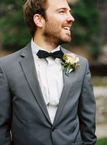 Rocky Mountain Wedding By Smitten Photography Groom Bowtie Rocky Mountain Wedding Groom Looks