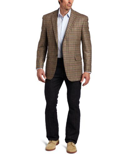 Austin Reed Men S Signature L Check Two Button Sport Coat Beige Austin Reed Sport Coat Men