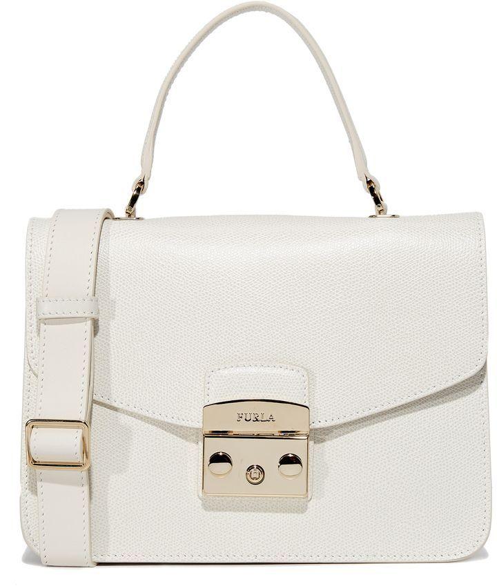 a9abf9708cd96 Furla Metropolis Small Top Handle Bag