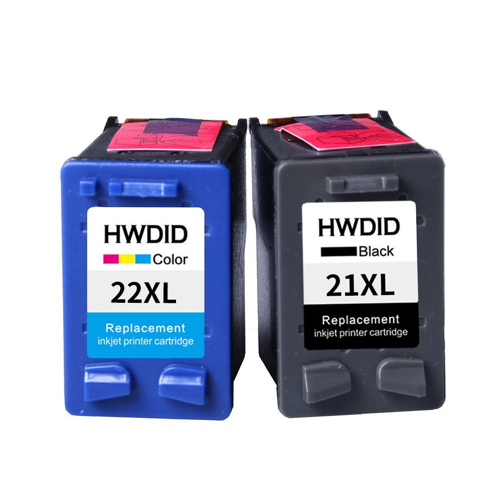 2 Pack Para Hp 21 22 Cartucho De Tinta C9351a C9352a 21xl 22xl