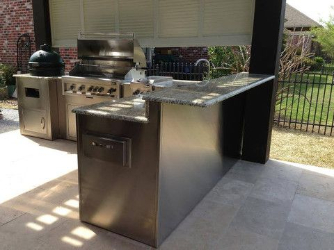 Gallery Flo Grills Baton Rouge With Images Outdoor Kitchen