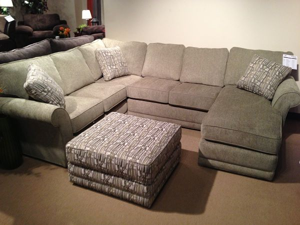 Upholstered Sectional With Pillows By Stanton Furniture Www