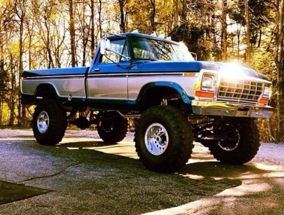 Pin by Trever Stalzer on Ford trucks Lifted ford trucks