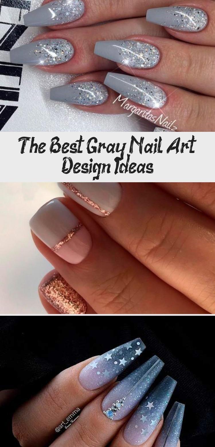 The Best Gray Nail Art Design Ideas Nail Desing In 2020 Nails Grey Nail Art Nail Art Designs