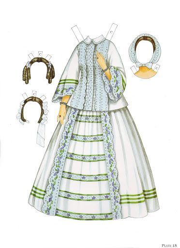 Paper Dolls~Godey's Early Victorian Fashions - Bonnie Jones - Picasa Web Albums