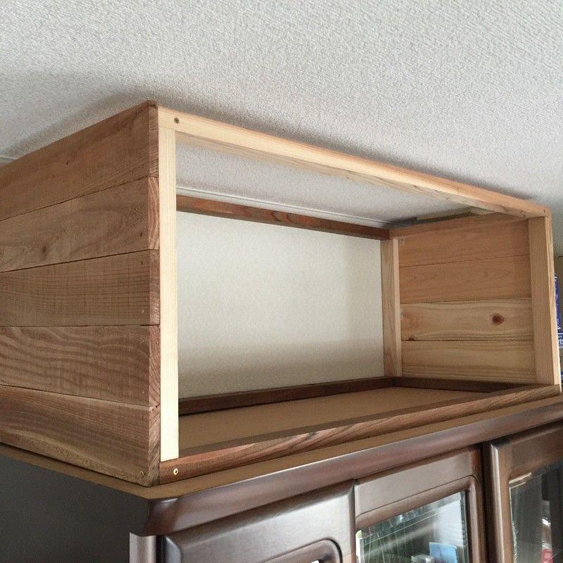 Diy デッドスペースを有効活用 簡単な棚 キッチン 食器棚 インテリア